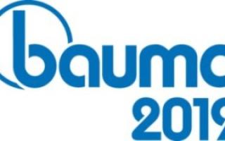 BAUMA 2019 - Monaco di Baviera dall'08 al 14 Aprile 2019